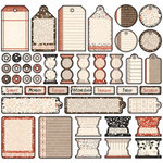 Creative Imaginations - Day By Day Collection by Samantha Walker - 12x12 Sticker Sheets - Day By Day, CLEARANCE