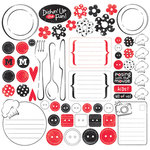Creative Imaginations - Signature Magic Meals Collection - 12x12 Sticker Sheets - Magic