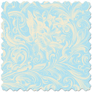 Creative Imaginations - Narratives - Bloom Collection - 12x12 Diecut Paper - Flourish Sky, CLEARANCE