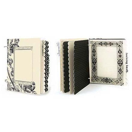 Creative Imaginations - Narratives - Easel Frame Album - Antique Cream