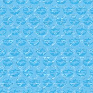 Creative Imaginations - Sea World Collection - 12x12 Paper - Shamu Logo