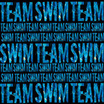 Creative Imaginations - Sports Xtreme - Water Sports Collection by Christine Adolph - 12x12 Paper - Swim Team Text
