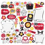 Creative Imaginations - Magic Collection - 12x12 Cardstock Stickers - Magic