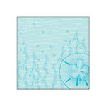 Creative Imaginations - Beach Days Collection by Allison Connors - 12x12 Paper - Sand Dollar, CLEARANCE