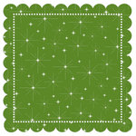 Creative Imaginations - Art Warehouse by Danelle Johnson - 12 x 12 Christmas Die Cut Paper - Mistletoe Star