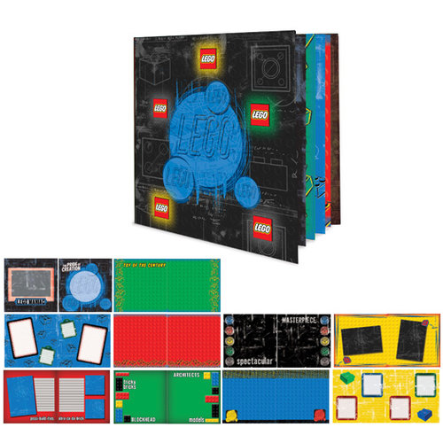 Creative Imaginations - Lego Collection - 8 x 8 Instant Album