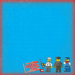 Creative Imaginations - Lego City Collection - 12 x 12 Paper - Transportation