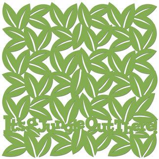 Creative Imaginations - Studio Basics 101 Collection - 12 x 12 Die Cut Paper - It's a Jungle