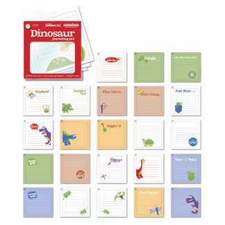 Creative Imaginations - Studio Basics 101 Collection - Dinosaur Journaling Pad, CLEARANCE