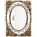 Creative Imaginations - Narratives by Karen Russell - Sepia Collection - Embossed Cardstock Punchout
