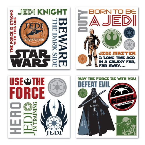 Creative Imaginations - Star Wars Collection - Rub Ons Swatch Pack - Star Wars