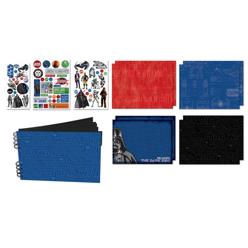 Creative Imaginations - Star Wars Collection - Mini Book Kit