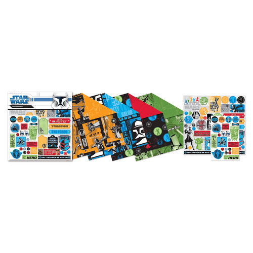 Creative Imaginations - Star Wars Clone Wars Collection - 12 x 12 Scrapbook Kit