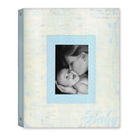 Creative Imaginations - Narratives by Karen Russell - 3 Ring Binder - Memory Book - Baby Boy