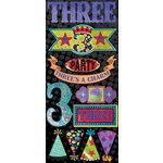 Creative Imaginations - Melange - Celebrate Me Collection - Cardstock Stickers - Three Rocks