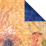 Creative Imaginations - Oceana Collection - 12 x 12 Double Sided Paper - Sealife
