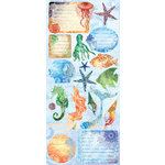 Creative Imaginations - Oceana Collection - Cardstock Stickers - Oceana
