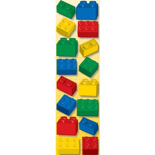 Creative Imaginations - Lego Classic Collection - Cardstock Stickers - Bricks