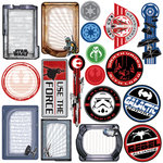 Creative Imaginations - Star Wars Collection - Die Cut Pieces - Star Wars Shapes, CLEARANCE