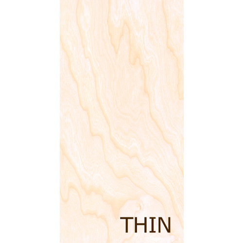 Creative Imaginations - Real Wood Collection - 6 x 12 Thin Wood Veneer Paper - Birch