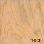 Creative Imaginations - Real Wood Collection - 12 x 12 Thick Wood Veneer Paper - Cherry