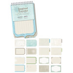 Creative Imaginations - Inspired Traveler Collection - Die Cut Journaling Pad - Inspired Traveler