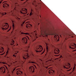 Creative Imaginations - Breathless Collection - 12 x 12 Double Sided Paper - Bed Of Roses