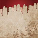 Creative Imaginations - Breathless Collection - 12 x 12 Varnish Paper - Tragic Symphony