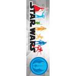 Creative Imaginations - Star Wars Clone Wars Collection - Cardstock Stickers - The Clone Wars Logo