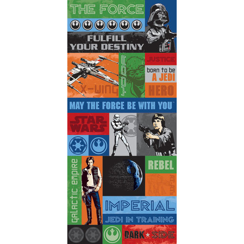 Creative Imaginations - Star Wars Collection - Jumbo Cardstock Stickers - Star Wars