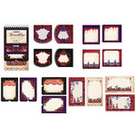 Creative Imaginations - Breathless Collection - Die Cut Journaling Pad, CLEARANCE