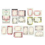 Creative Imaginations - Loolah Collection - Die Cut Journaling Pad, CLEARANCE