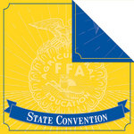 Creative Imaginations - FFA Convention Collection - 12 x 12 Double Sided Paper - Convention
