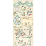 Creative Imaginations - Lullaby Boy Collection - Cardstock Stickers - Lullaby Boy