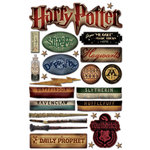 Creative Imaginations - Harry Potter Collection - Epoxy Stickers - Harry Potter
