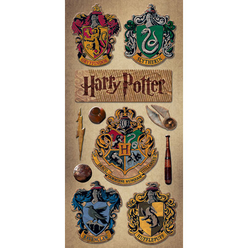 Creative Imaginations - Harry Potter Collection - Chipboard Stickers - Harry Potter