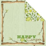 Creative Imaginations - Happy Camper Collection - 12 x 12 Double Sided Paper - Happy Camper