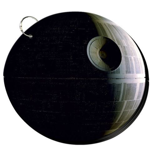 Creative Imaginations - Star Wars Collection - Chipboard Album - Death Star