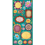 Creative Imaginations - Marrakesh Collection - Cardstock Stickers - Marrakesh