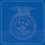 Creative Imaginations - FFA Convention Collection - 12 x 12 Paper - Blue Emblem