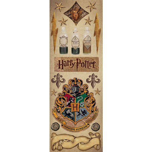 Creative Imaginations - Harry Potter Collection - Cardstock Stickers - Potions