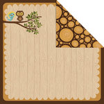 Creative Imaginations - Forest Critters Collection - 12 x 12 Double Sided Paper - Happy Together