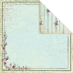 Creative Imaginations - Provencial Collection - 12 x 12 Double Sided Paper - Bordeaux