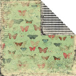 Creative Imaginations - Devotion Collection - 12 x 12 Double Sided Paper - Flitter