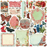 Creative Imaginations - Devotion Collection - Die Cut Pieces - Devotion Shapes