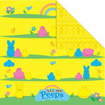Creative Imaginations - Peeps Collection - 12 x 12 Double Sided Paper - All My Peeps