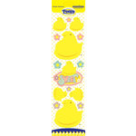 Creative Imaginations - Peeps Collection - Glitter Cardstock Stickers - Chicks