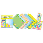 Creative Imaginations - Peeps Collection - 12 x 12 Scrapbook Kit