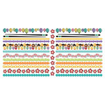 Creative Imaginations - Kokeshi Collection - Cardstock Borders - Kokeshi