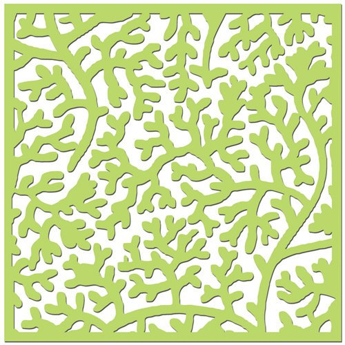 Creative Imaginations - Existencil Expressions Collection - 12 x 12 Stencil Sheet - Oceana